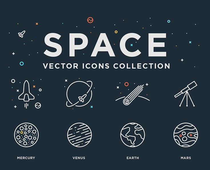 Today, we're so delighted to bring to you another unique freebie: Free Space Vector Icons Set. It's a collection of 24 space vector line icons. Inside the ZIP file you'll find space related icons such as planets, stars, astronauts, satellite and much more. These icons are available in EPS file format and can be scaled to any size needed. This set would be the ideal choice to make you new graphic design project unique and impressive.