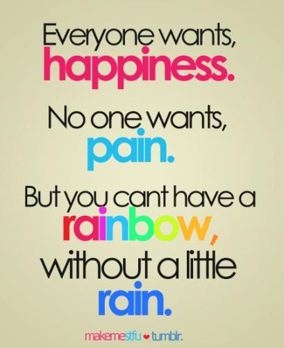 Rainbows #rainquotes