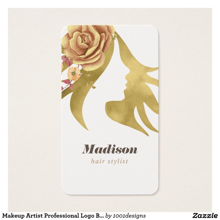 36 best Makeup Artist Professional Logo Beauty Salon Business Card ...