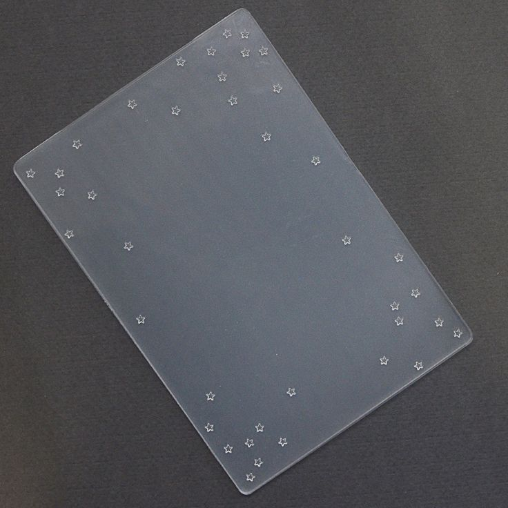 Prägefolder/Embossing Folder Sternenregen
