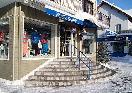 Sports Passion, Magasin de sport à La Bresse, Location ski vosges 88