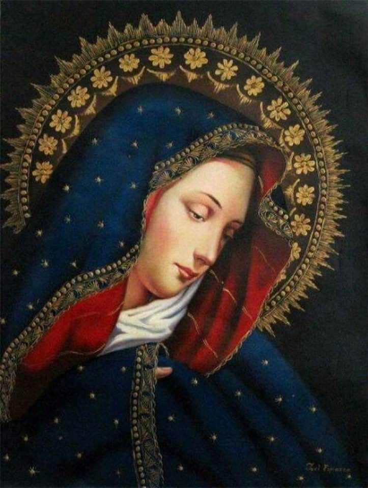 281 best Blessed Mother Mary images on Pinterest   Jungfrau maria ...