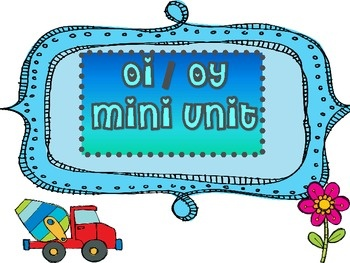 oi/ oy mini unit: Oi Minis, Oy Minis, Classroom Gems, Words Work Reading, Fabulous Classroom, Minis United, Education Classroom, Diphthong Oy, Schools Reading