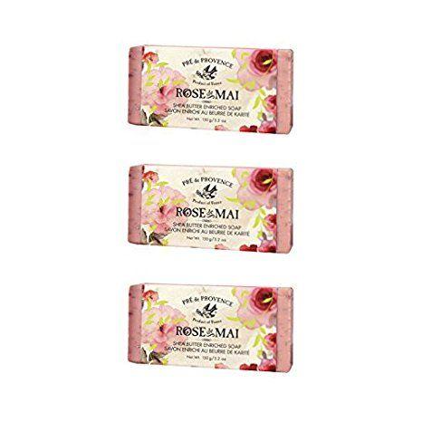 Pre de Provence Rose de Mai Soap – Pack of 3 Bars Review