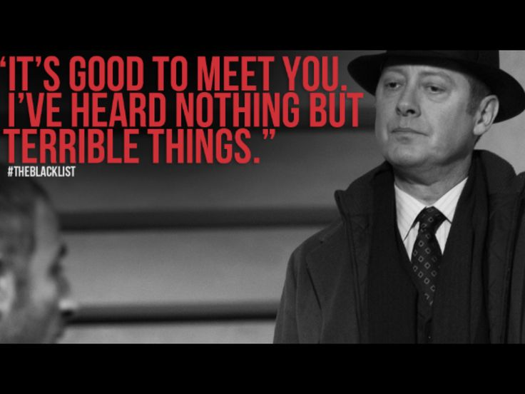 Blacklist Quotes Stunning 181 Best Raymond Reddington Quotes Images On Pinterest  James .