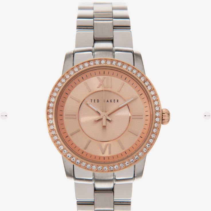 TO BUY: Ted Baker - Cessie Crystal Face Watch £189