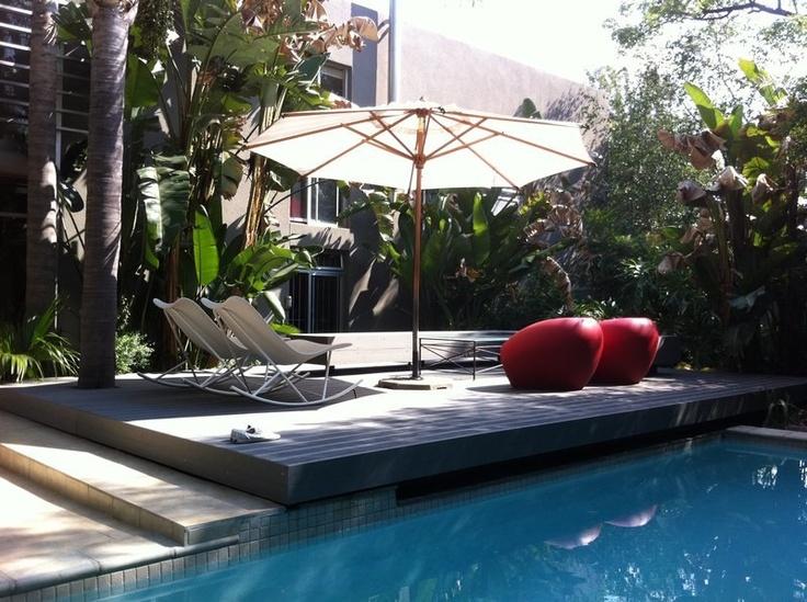 Eva-tech #Aruna over the pool. http://www.eva-tech.com/en/