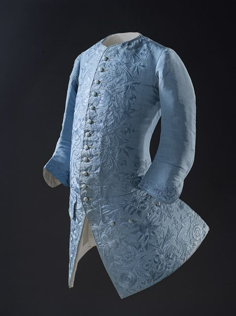 China for the Western market  Man's Sleeved Waistcoat, circa 1740