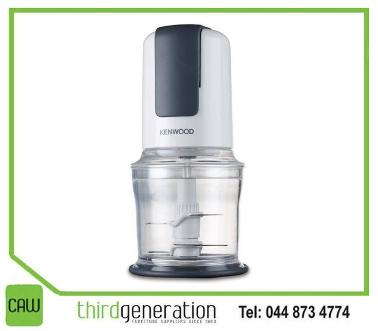 The #Kenwood Quad Blade Chopper is a beautifully designed chopper with the quadblade system and mayonnaise attachment, which is perfect for the quick preparation of herbs, nuts, dips, ice-crushing and baby food. Visit #ThirdGenerationCAW or contact us on 044 873 4774.