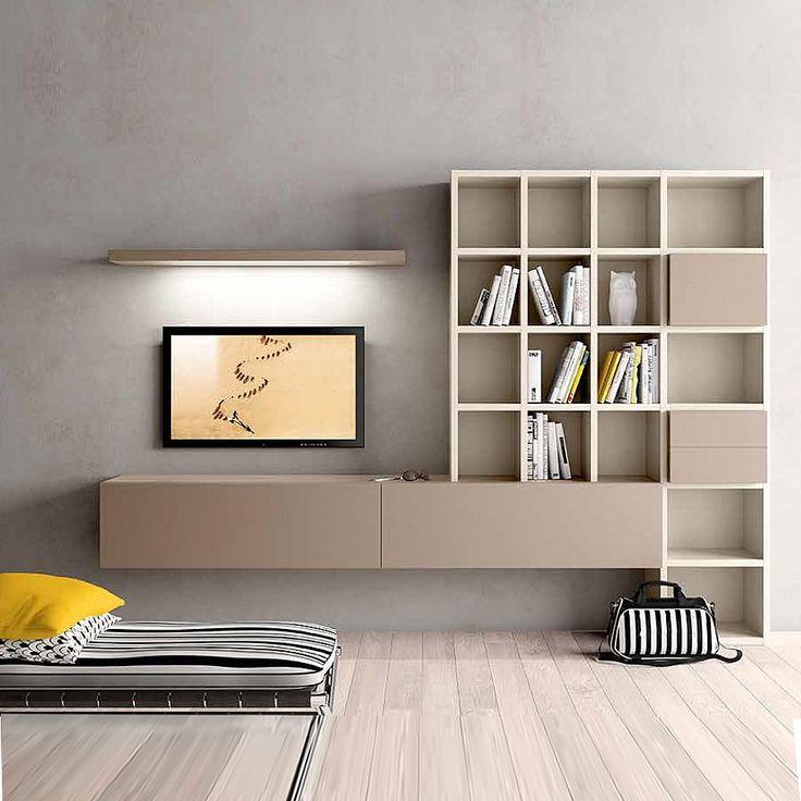Modern design Tv media unit 'Minimalist 2' by Morassutti
