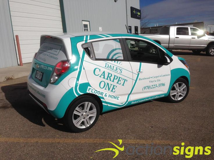 Dale S Carpet One Of Fort Collins Co Vehiclewrap Actionsigns