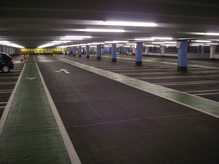 Internal Flooring Amp Line Marking Of Multi Storey Car Parks