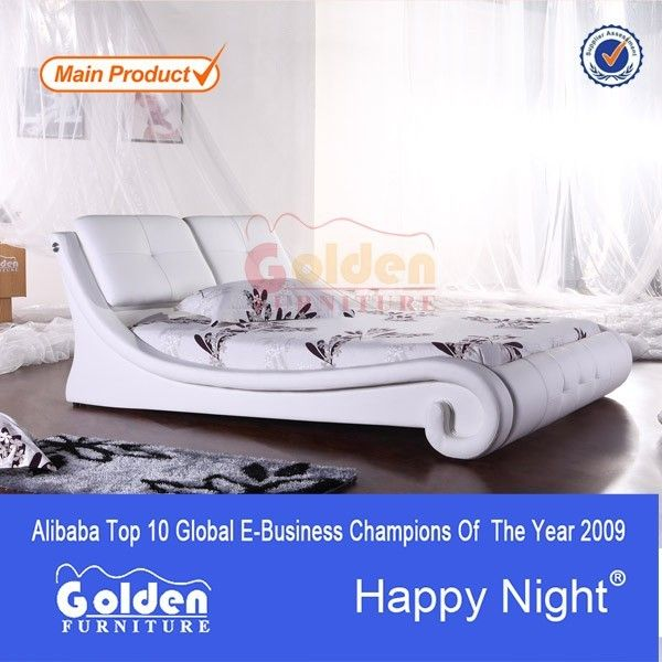 Cheap price white wooden single bed