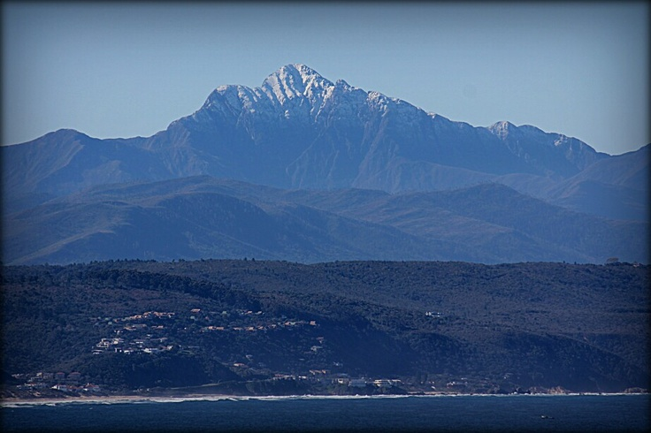 Snow on Formosa Peak Plettenberg Bay