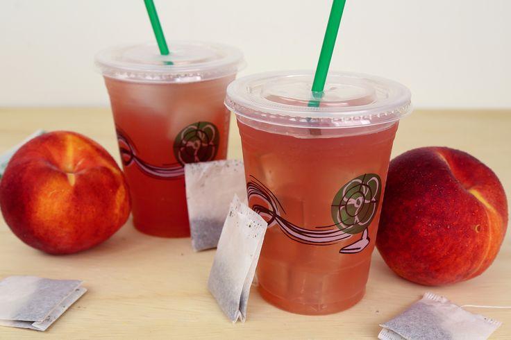 Iced Peach Green Tea Starbucks DIY, Shaken or Lemonade! – Mind Over Munch