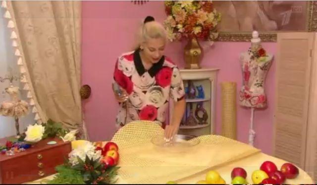Крой и Шитьё. Все о рукоделии : Тарелка фруктов и цветов от Ольги Никишичевой