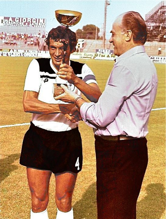 One-club man Giampiero Ceccarelli played his entire professional career for Cesena. For many years he was the captain of the team.