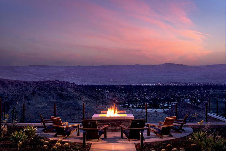 lua de mel em Palm Springs California
