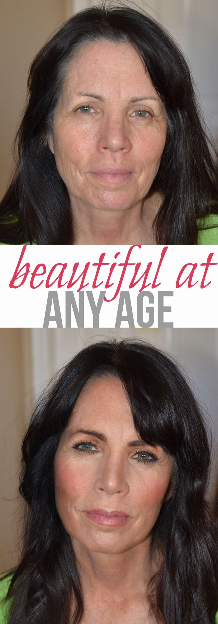 A MAKEUP ARTIST'S MUM BEFORE & AFTER WAIT UNTIL U SEE AFTER NOT OVERDONE! BEAUTIFUL. Some incredible tips for ageless beauty!