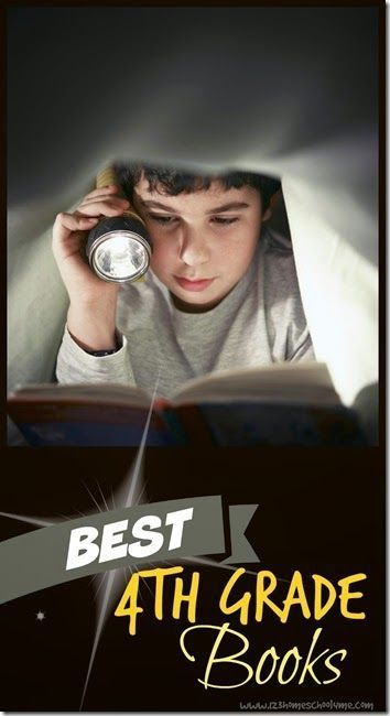 Best 4th Grade Books - A wonderful 4th grade book list for every child! Great list for summer reading, parents to take to the library, or homeschool kids.