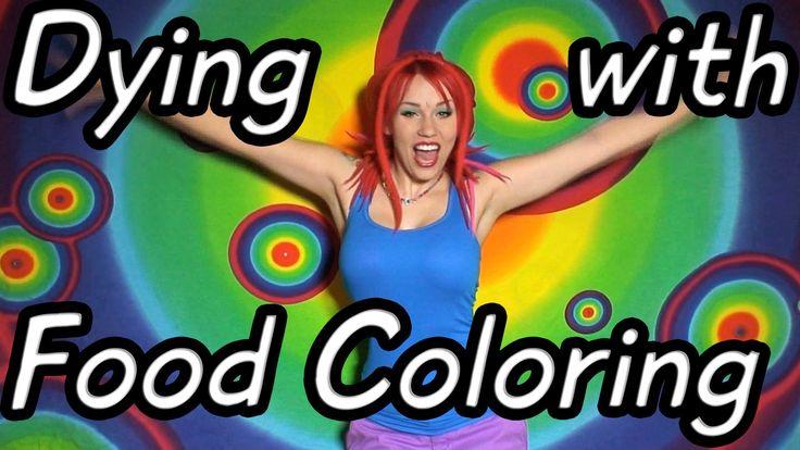 Can You Dye Fleece With Food Coloring