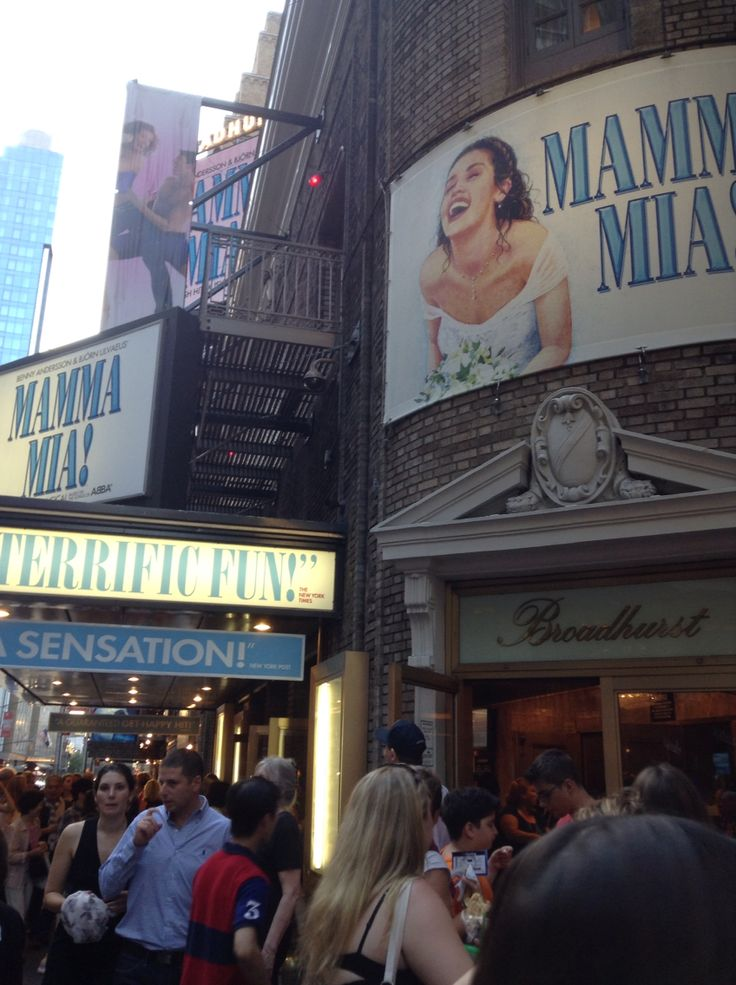 #NYC Broadway Mamma Mia  ©ArianeRobichaud