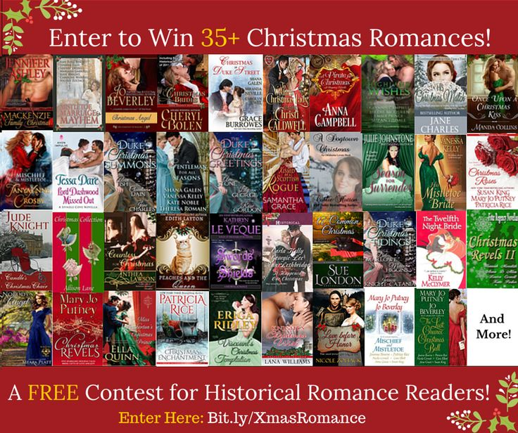 Win 35+ Christmas Historical Romances + $100 Gift Card!