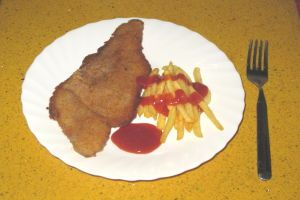 Escalopes de ternera empanados