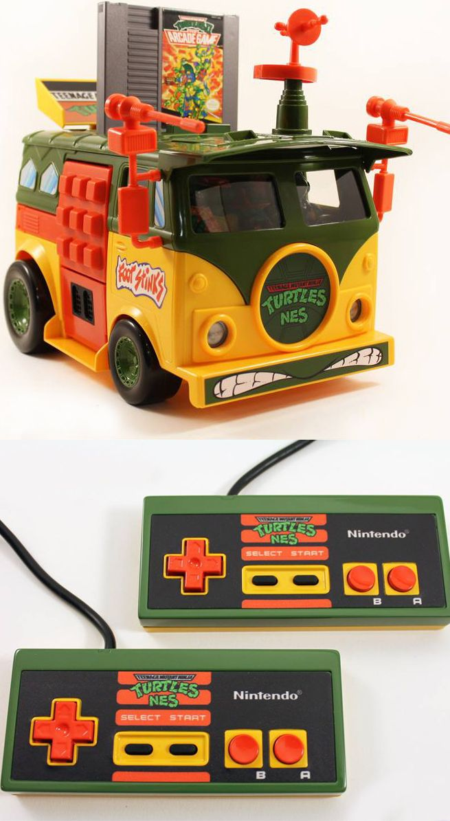 Fact: Ninja Turtle NES Party Bus Is the Best Thing Ever
