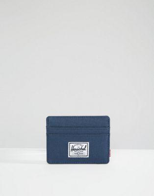 Herschel Supply Co Charlie Card Holder in Navy