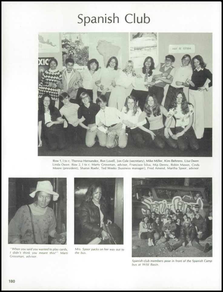1975 Gateway High School Yearbook via Classmates.com  ***** Me on the yearbook staff  Who would have thought it