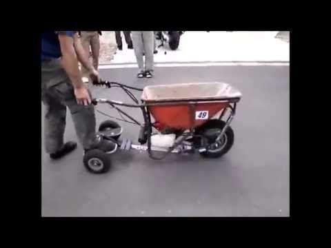 Maquina aplicadora de argamassa em pisos e azulejos . Topp Mak - YouTube