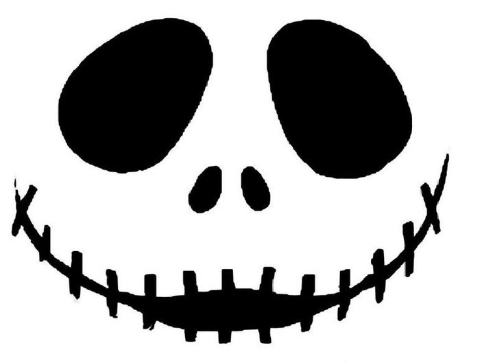 Jack Skellington Pumpkin King Stencil