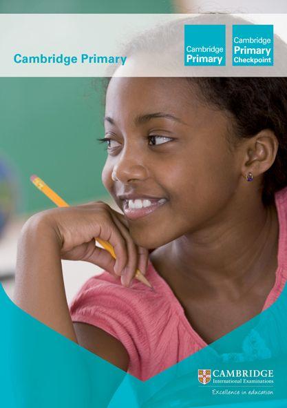 Cambridge Primary brochure cover