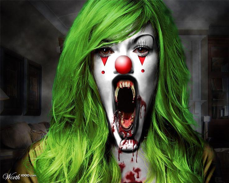 Best 25+ Evil Clown Costume Ideas On Pinterest