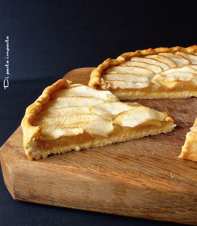 Di pasta impasta: Crostata di mele vegana in brisè all'olio (light)