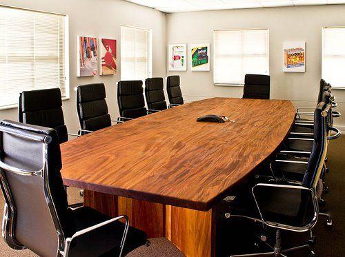 Solid Mahogany Boardroom Table