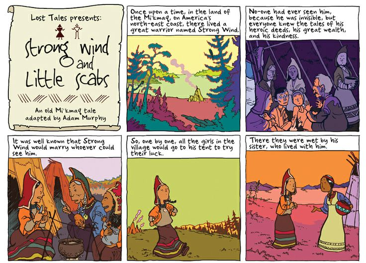 Strong Wind & Little Scabs Episode 1: A traditional Mi'kmaq Tale. In the Phoenix Issue 88.
