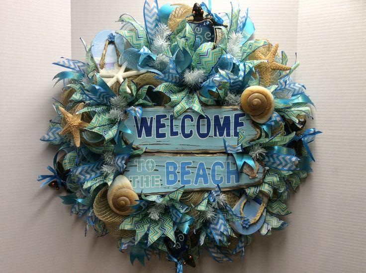278 best Deco mesh wreath images on Pinterest | Deco mesh wreaths ...