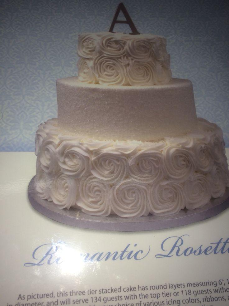 Walmart Wedding Cake 6