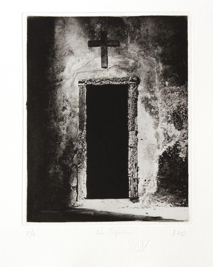 Jose Velez, copper plate photogravure