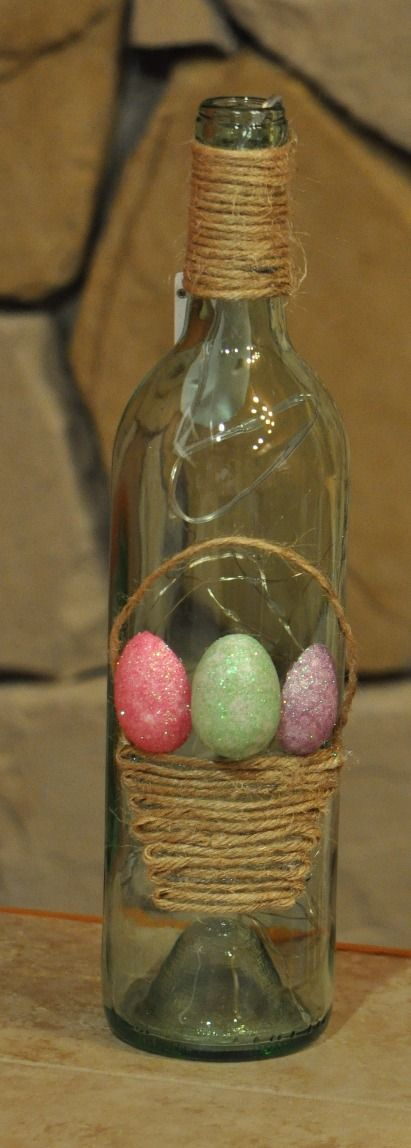 Wine Bottle - EasterTheme