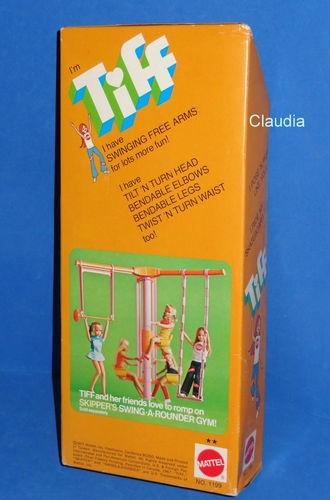 Vintage Barbie Skipper Friend 1199 Pose ´N Play Tiff 1972 Mint RARE | eBay