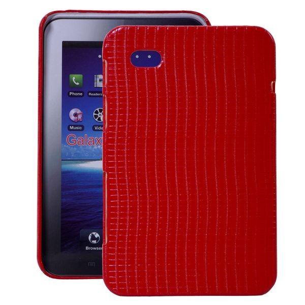 Raptor (Punainen) Samsung Galaxy Tab P1000 Suojakuori