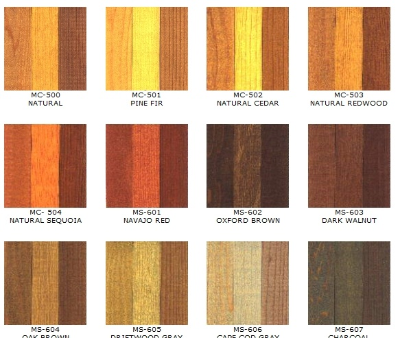 24 Best Images About Deck Stain Colors On Pinterest