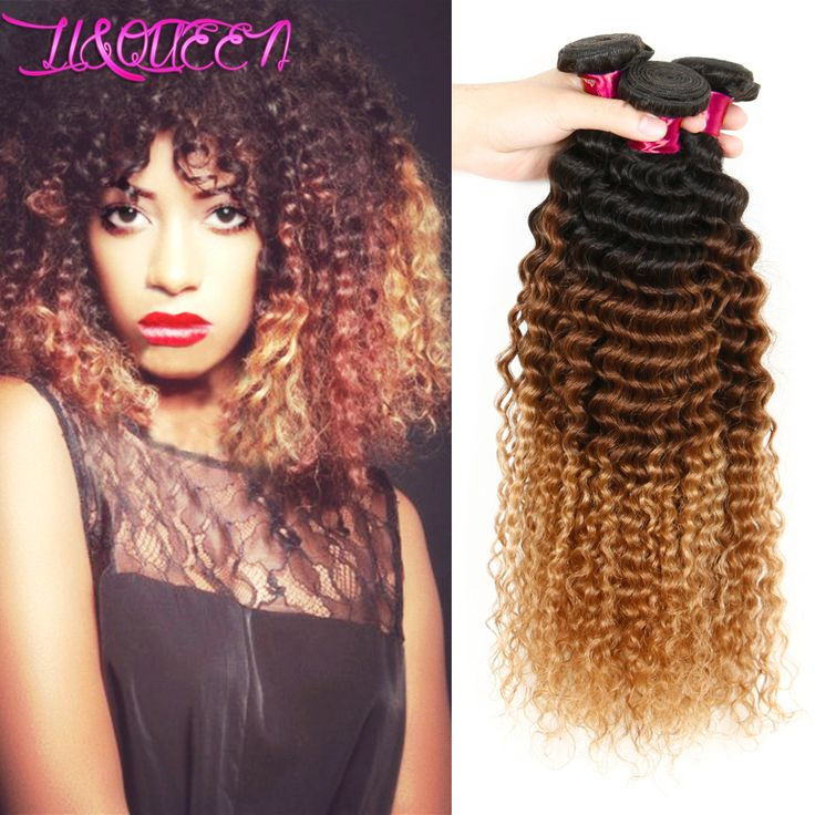 Aliexpress.com : Buy Grace Hair Products 6A Malaysian Virgin Hair Ombre Deep Wave Cheap 3 Bundles Ombre Malaysian Deep Curly Hair Weave Ombre 1b/4/30 from Reliable product addition suppliers on Li&Queen  | Alibaba Group