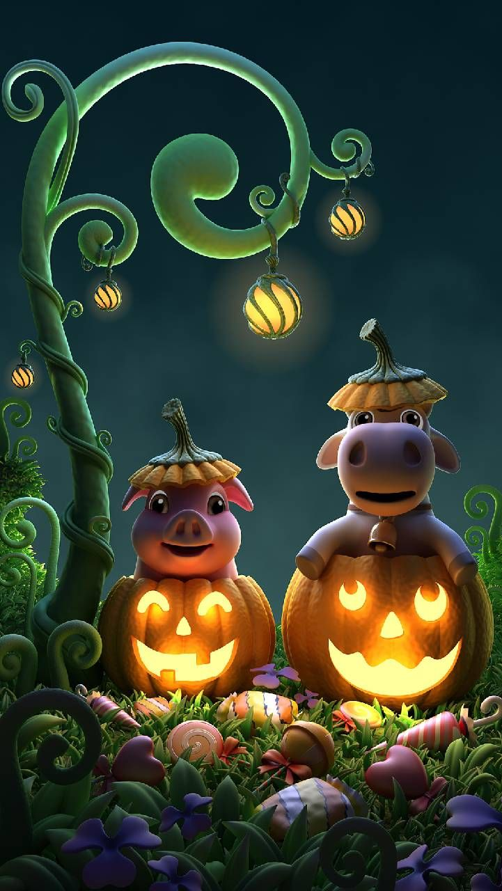 Download Happy Halloween Wallpaper By Agaaa K 2b Free On Zedge Now Browse Millions Of Popular Cow Wallpapers And Ringtones On Zedge And Personalize Your P