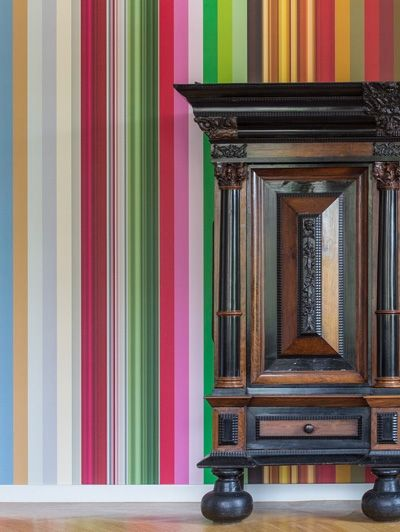Droog Colour DNA-behang Irma Boon - 6x Rijksmuseum aan de muur