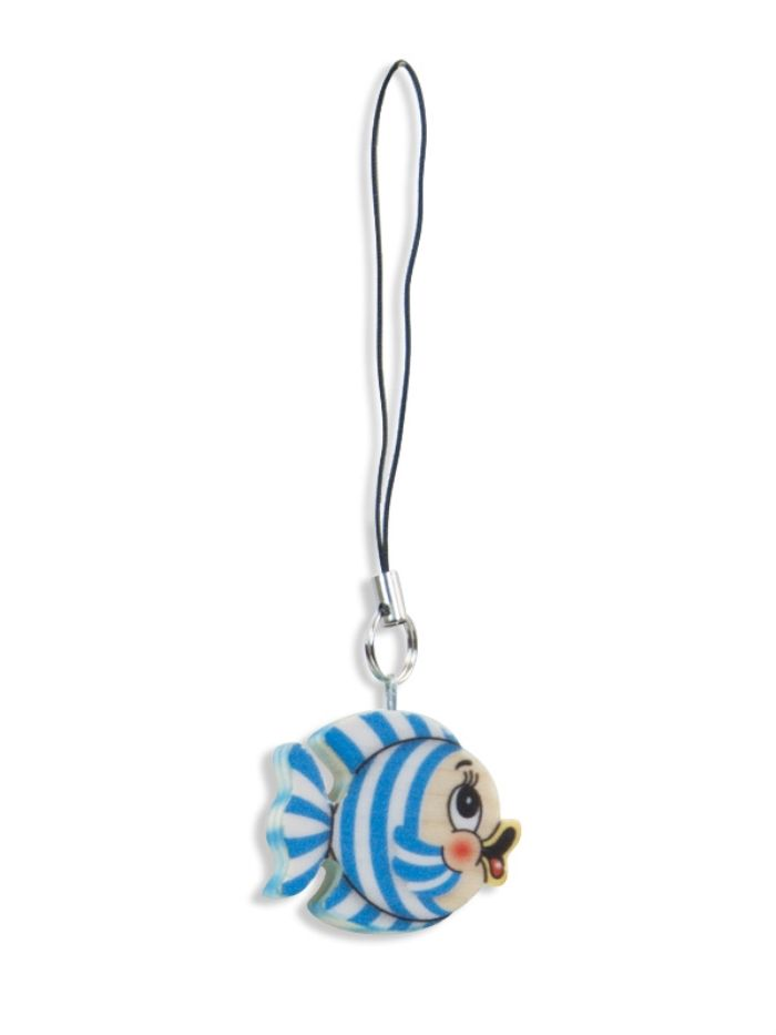 Bartolucci E-shop - Striped Fish Charm