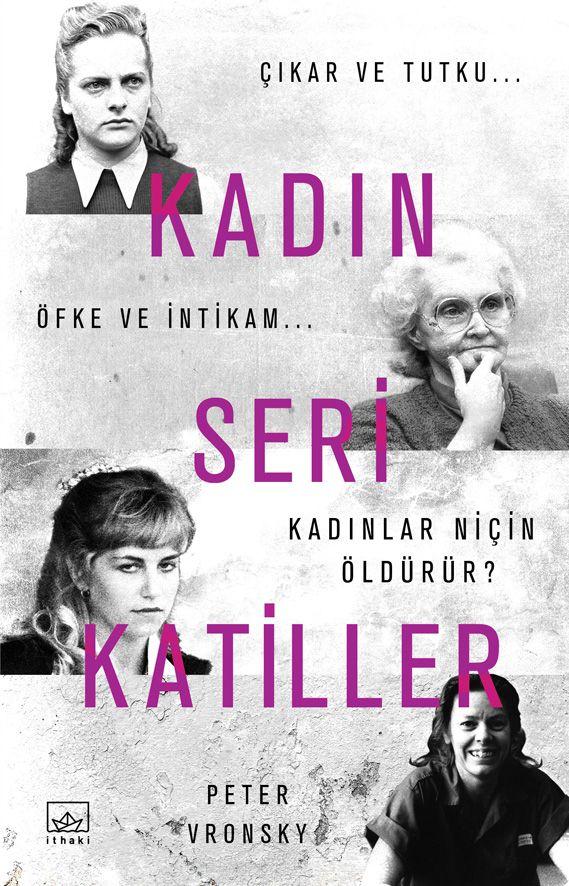 Kadın Seri Katiller - Book Cover Design